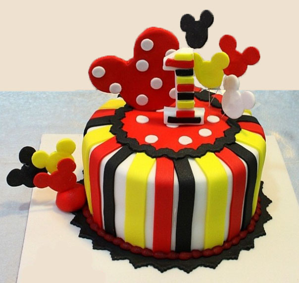 Mickey Mouse Cake Customized Cakes Order Online Free Delivery