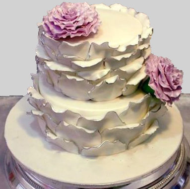 Rose Petals Anniversary Cake Free delivery in Lahore.