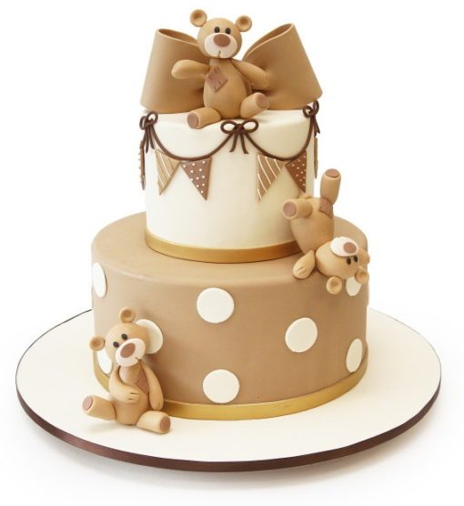 Tumbling Teddy Bear Cake