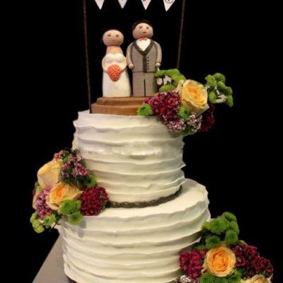 Wedding cake jeng