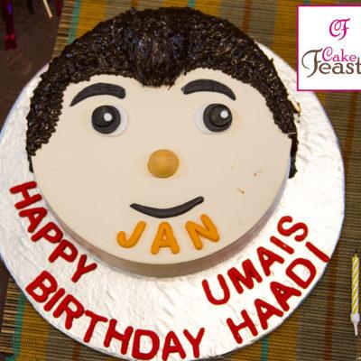 Jan Cartoon Cake