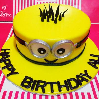 Rockstar Minion Cake