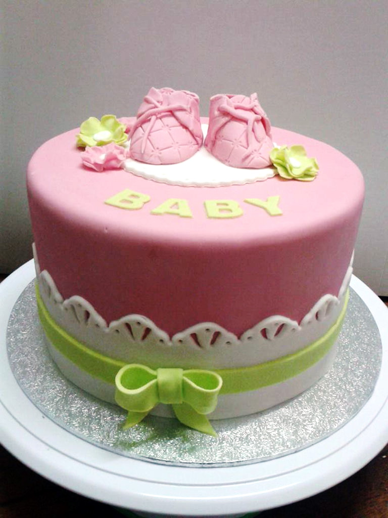 Girl Baby Shower Cake in Lahore