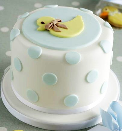 Ducky Baby Shower Cake in Lahore.