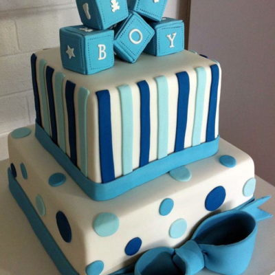 Beautiful Baby Shower Cake in lahore