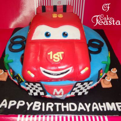 Car Birthday Cake in Lahore