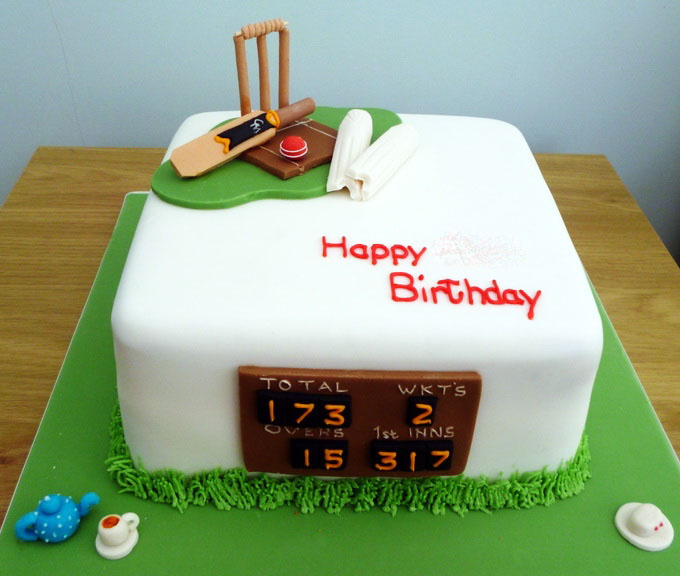 Cricket Theme Cake 1 In Lahore Sports Cakes