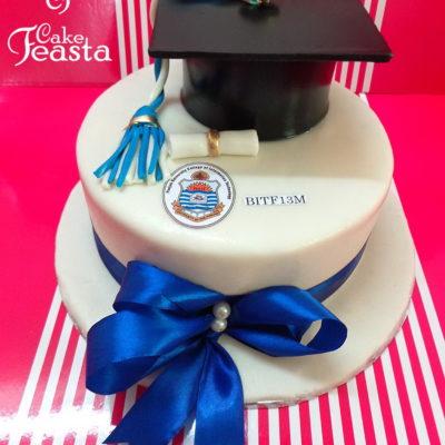 Punjab University Graduation Cake