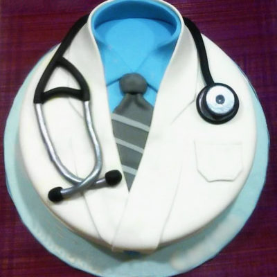 Doctor Stethoscope Medical Cake in Lahore