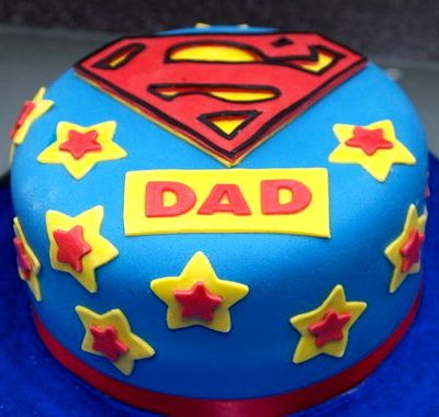 Yellow Stars Father's Day Cake in Lahore