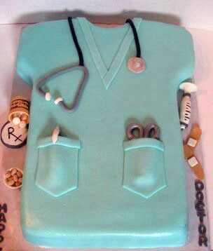 Doctor Stethoscope Medical Cake Customized Cakes Free Delivery