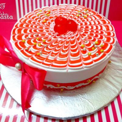 Cherry Design Cake