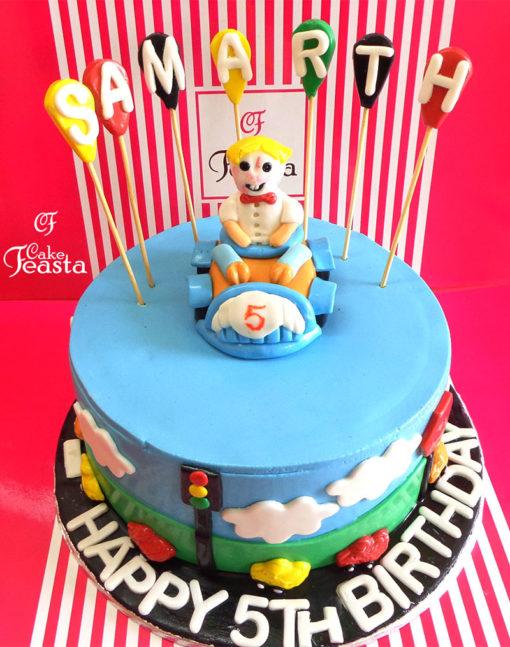 Bendy X Birthday Cake