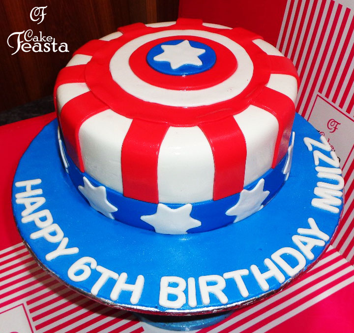 Avengers Birthday Cake Customized Cakes in Lahore Free Delivery