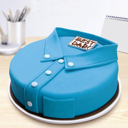 Best Dad Shirt Father's Day Cake