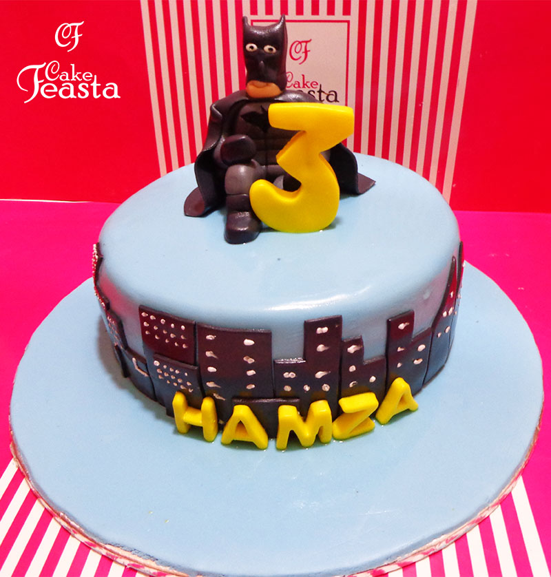Batman 3rd Birthday Cake in lahore