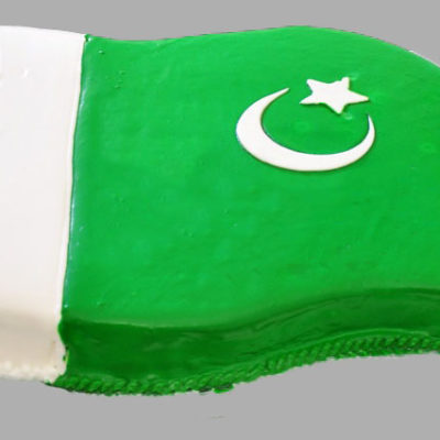 Big Pak Flag 14 Aug Cake in lahore