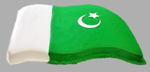 Big Pak Flag 14 Aug Cake in lahore