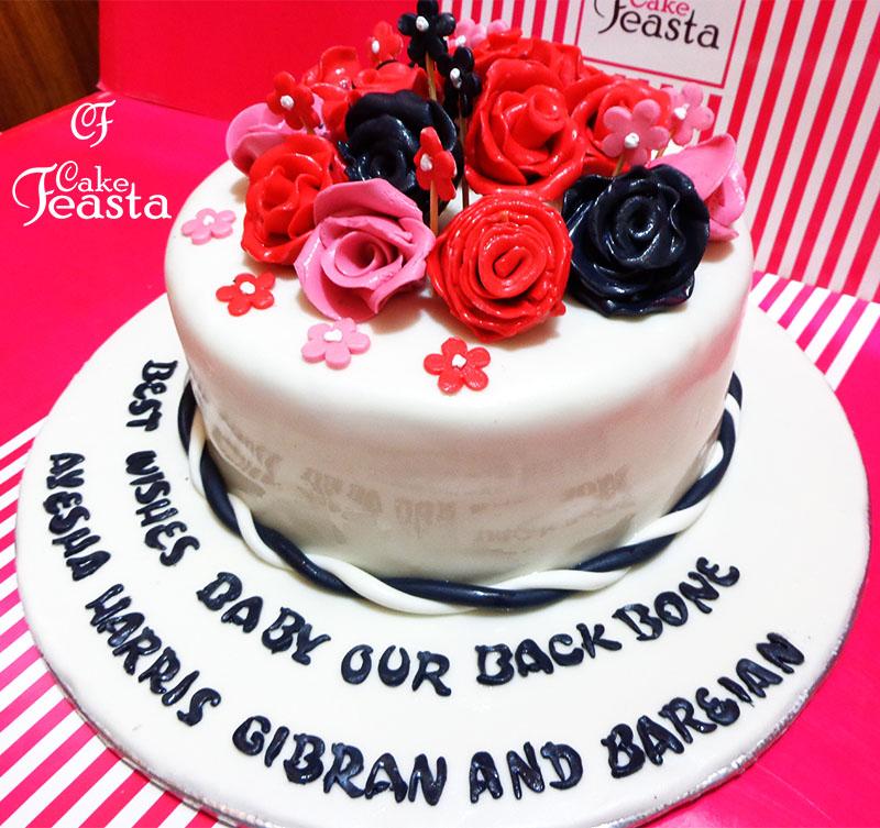 Best Wishes Cake
