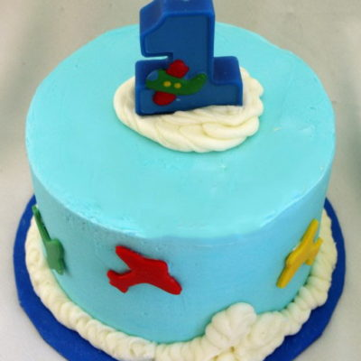 First Birthday Airplane Party Cake in Lahore