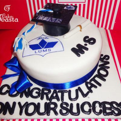 LUMS University Graduation Cake in lahore