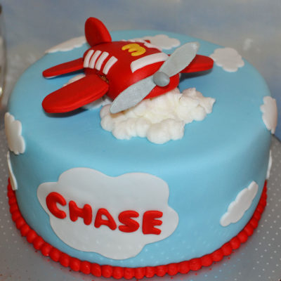 Helicopter Cloud Party Cake in Lahore
