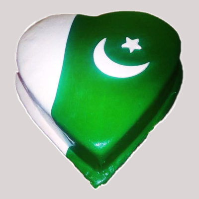 Heart Shape 14 Aug Cake in lahore