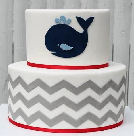 Whale Baby Cake in lahore