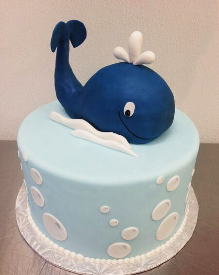 Baby Ocean Animals Cake in lahore
