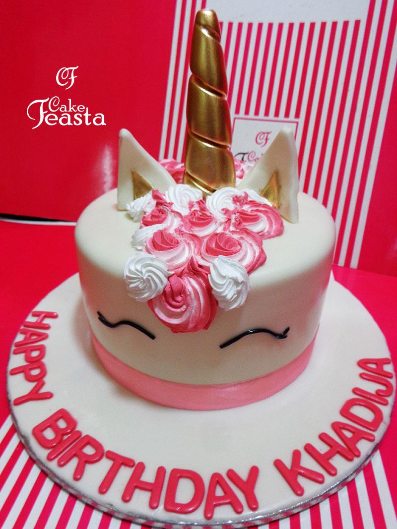 Unicorn Birthday Cake In Lahore