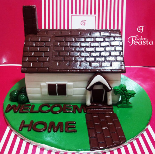 Welcome Home Celebration Cake