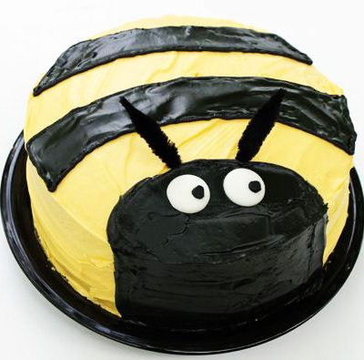 Bumble Bee Cake character cake in lahore