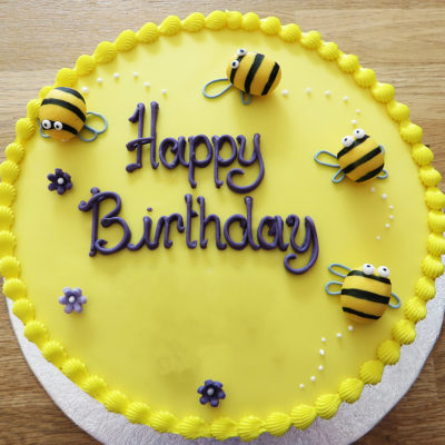 Bee Yellow Theme Cake in lahore