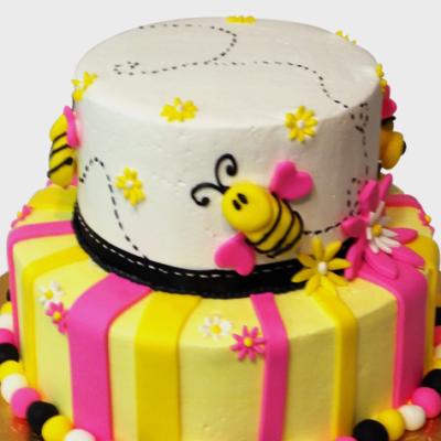 Happy Bee Cake in lahore