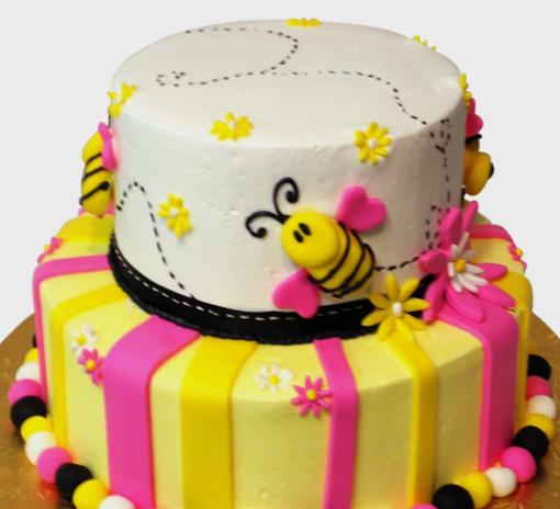 Happy Bee Cake in lahore
