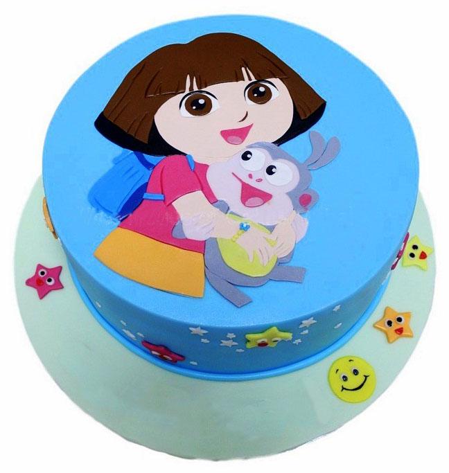 Dora Explorer Cake Fondant Cakes In Lahore Free Delivery
