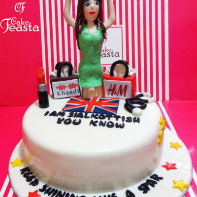 UK Doctor Makeup Cake in lahore
