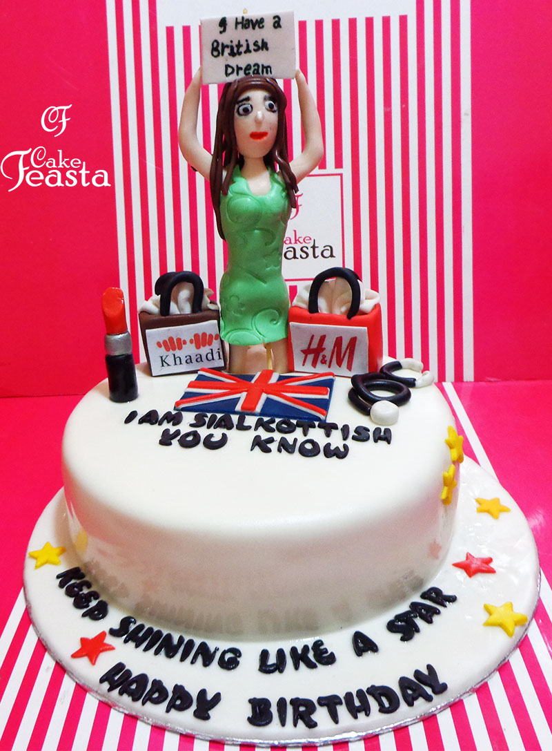 UK Doctor Makeup Cake Customized Cakes in Lahore Free Delivery