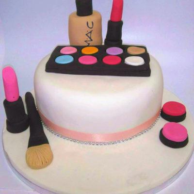 MAC Lipstick Makeup Cake in lahore