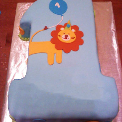 Big First Lion Cake in lahore