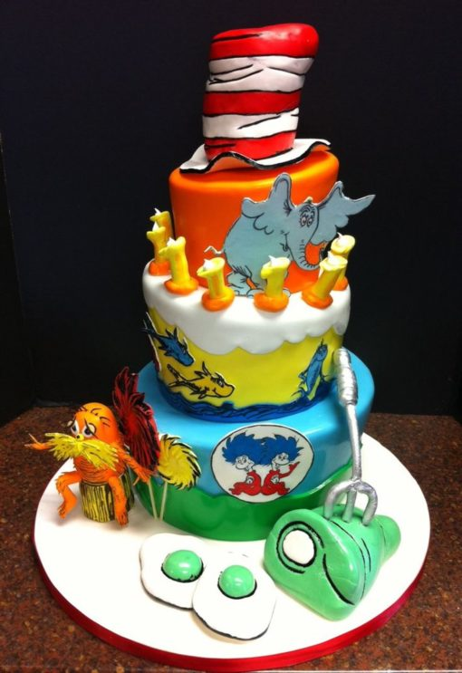 Dr. Seuss 4 Tier Cake in lahore