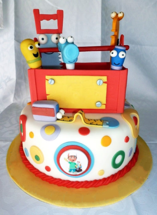 Handy Manny 2 Tier Cake in Lahore