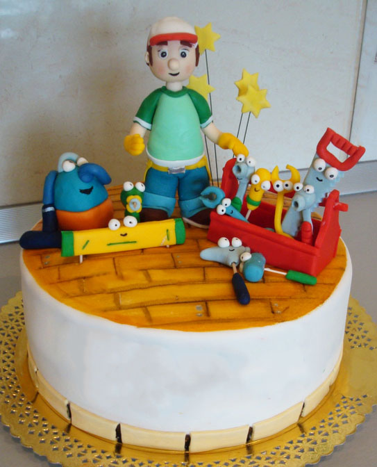 Handy Manny Yellow Cake in lahore