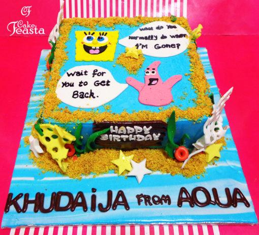 SpongeBob Birthday Cake in Lahore
