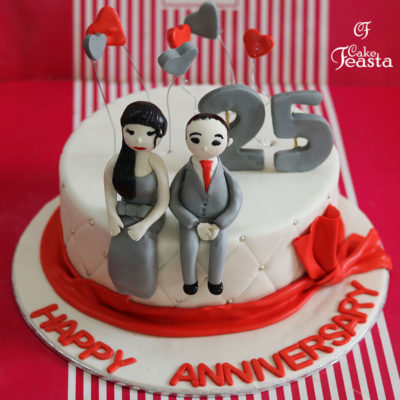 Couples Anniversary Cake in Lahore