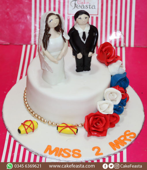 Couples Wedding Cake in Lahore