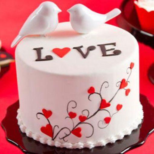 Dove Valentines Day Cake Valentine Day Special Cakes In Lahore