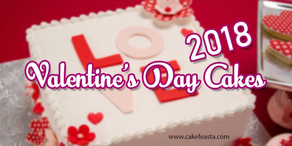 Best Valentine's Day Cakes 2018