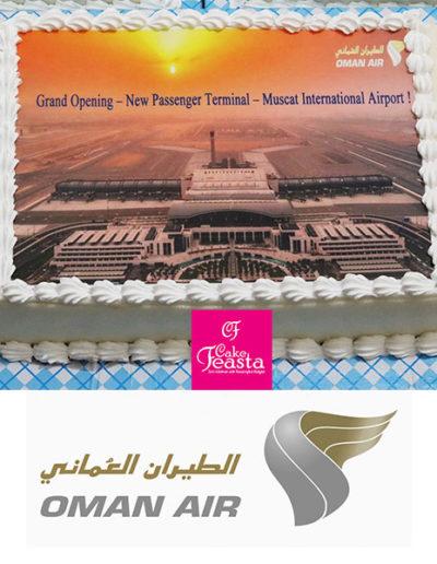 Oman air cake