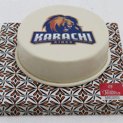 Karachi Kings PSL Cake